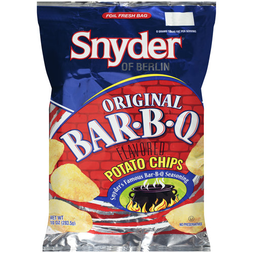 Snyder of Berlin Original Bar-B-Q Flavored Potato Chips, 10 oz