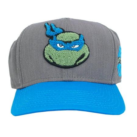 Leonardo Teenage Mutant Ninja Turtles Patch Adult Snapback Baseball Cap Hat
