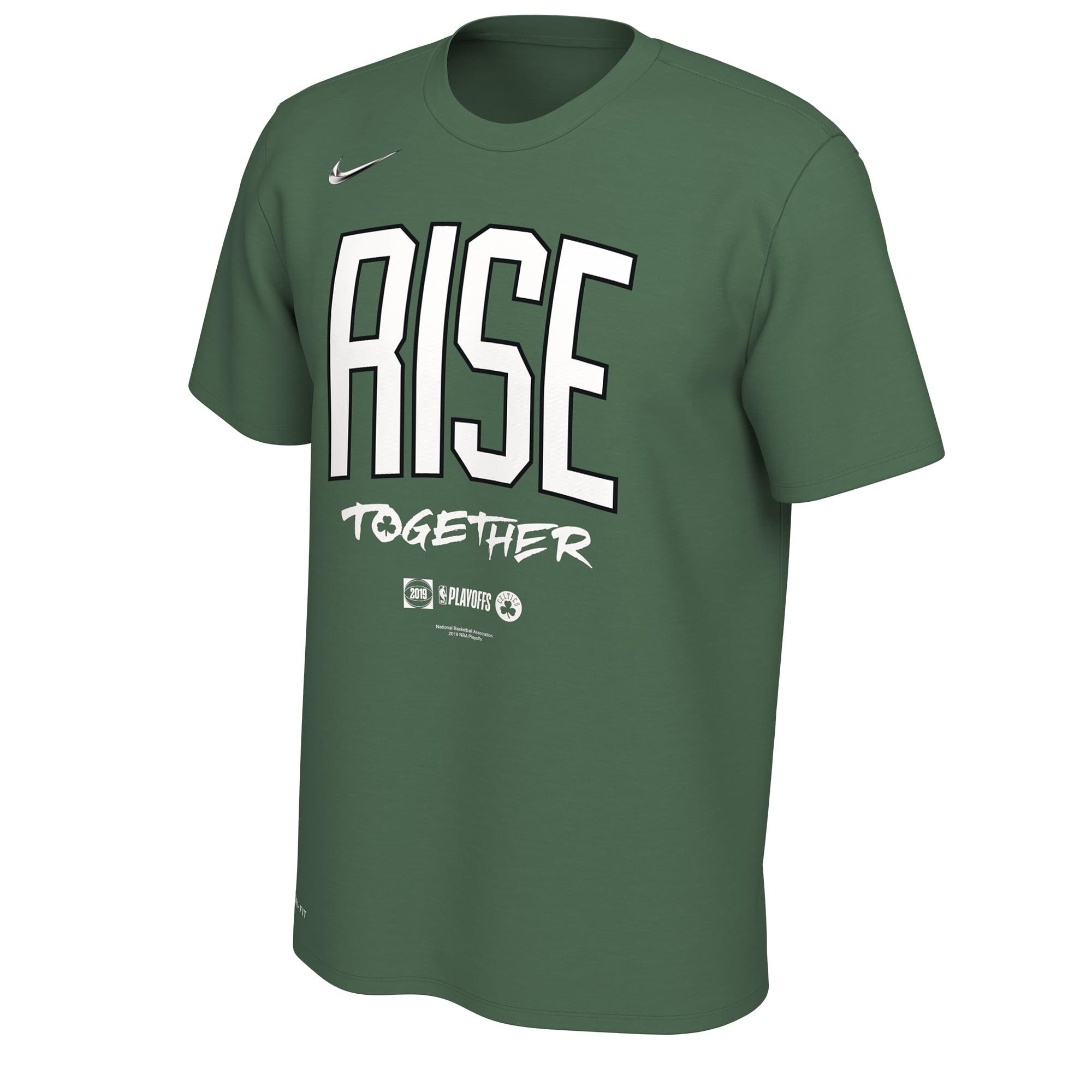 Boston Celtics Nike 2019 NBA Playoffs Bound Team Mantra Dri-FIT T-Shirt - Kelly Green