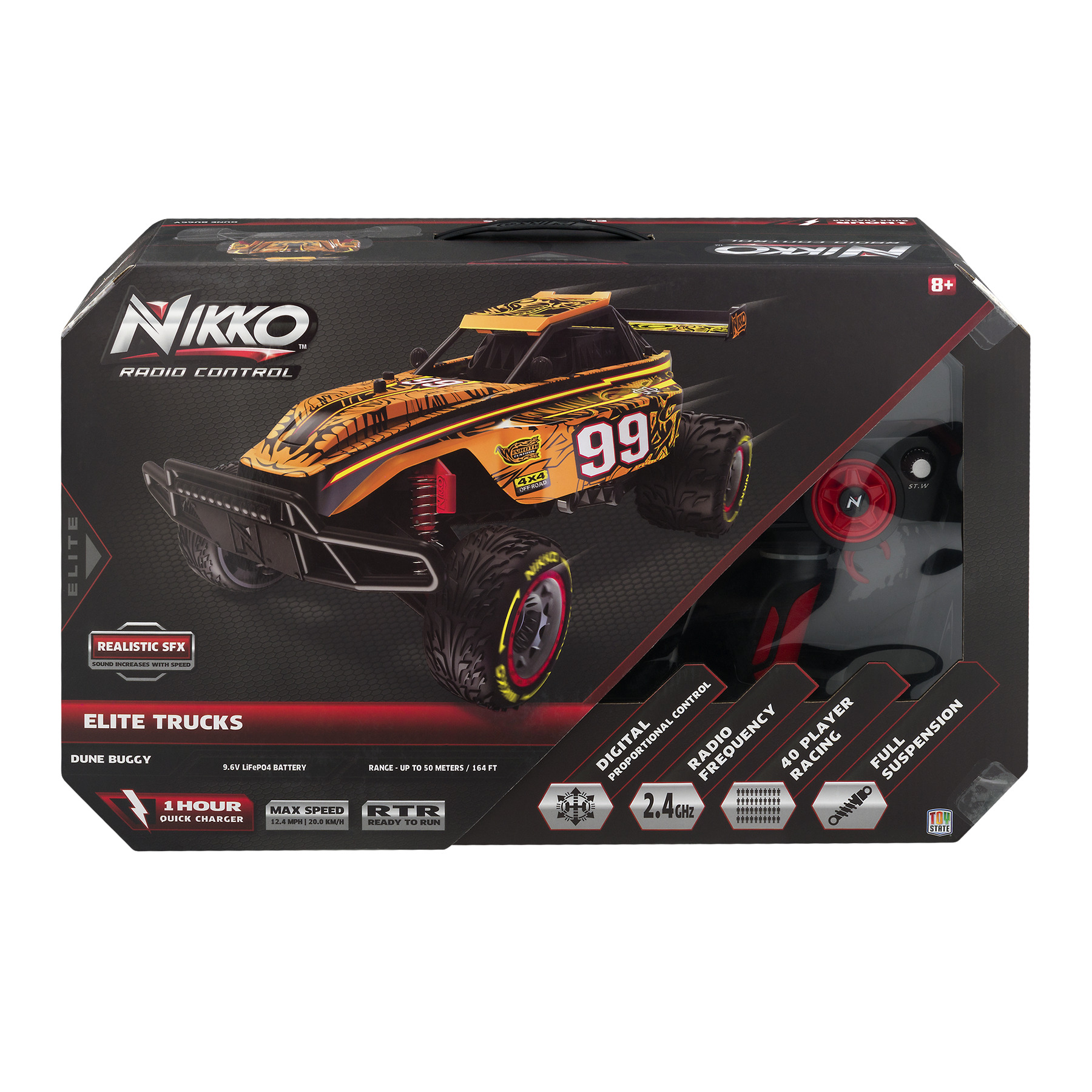 Nikko Elite Trucks Dune Buggy R/C, 1.0 CT