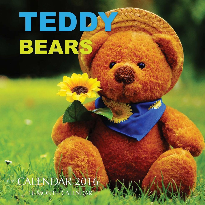 Teddy Bears Calendar 2016: 16 Month Calendar (Paperback)