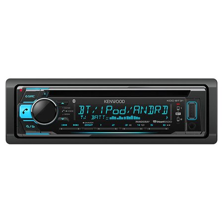 Kenwood KDC-BT31 Single-DIN In-Dash CD Receiver with Bluetooth