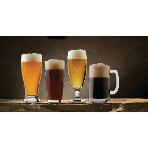 Libbey Glass Craft Brew 4-Piece Assorted Beer Tasting Set