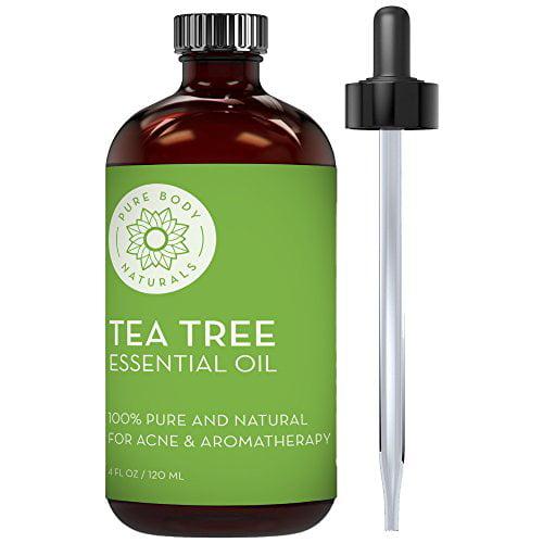 100% Pure Australian Tea Tree Essential Oil , 4 Fl. Oz.