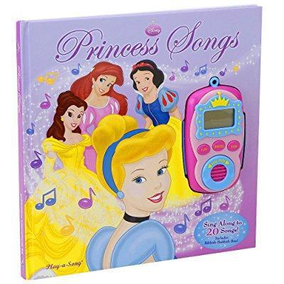 Concord Global Trading disney princess play-a-song book: princess songs digital music player
