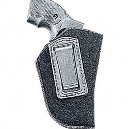 UNCLE MIKES INSIDE THE PANTS OPEN STYLE HOLSTER SUEDE BLACK SMALL/MEDIUM -