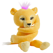 Fingerlings HUGS - Sam (Yellow) - Interactive Plush Lion