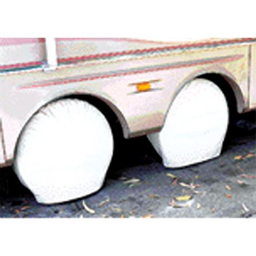 ADCO Polar White Vinyl Tyre Gards