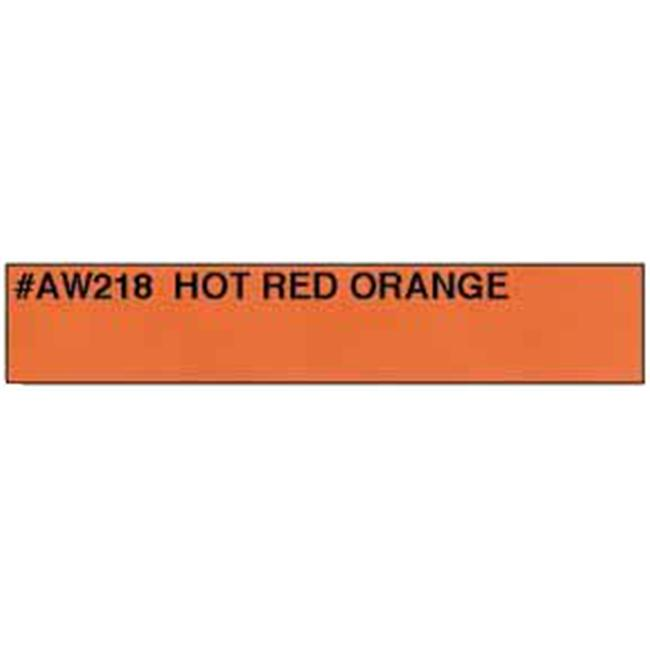 Easy-Eye Archery Products AW218 Solid Hot Red Orange - Carbon
