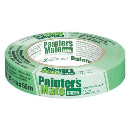 SHURTAPE Masking Tape,Paper,Green,24mm CP 150