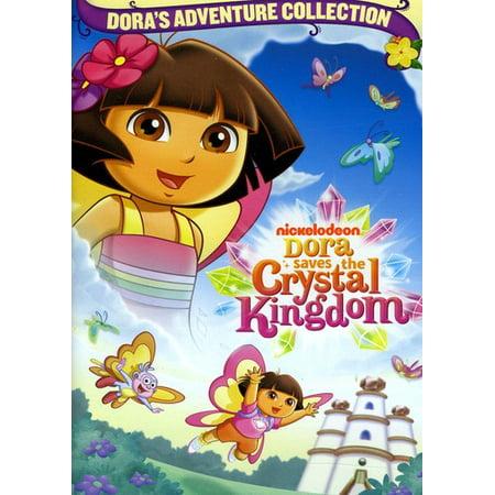 Dora The Explorer: Dora Saves The Crystal Kingdom (DVD) - Dora The Explorer Halloween Episode