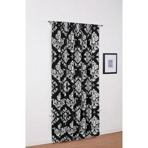 Classic Noir Window Panel, Black and White