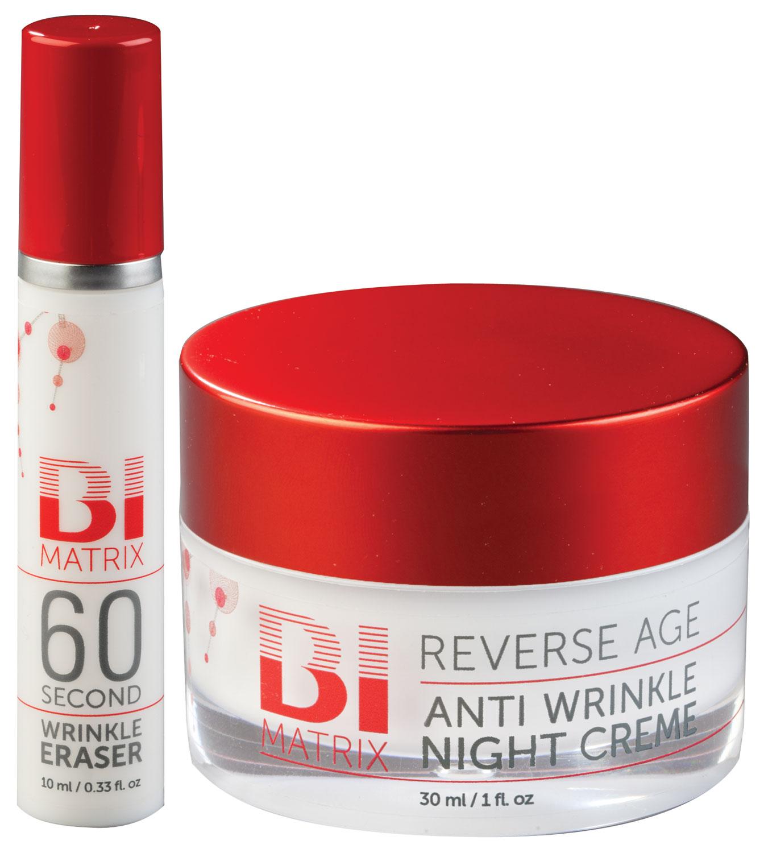 Bi-Matrix 60 Second Wrinkle Eraser with Free Night Cream