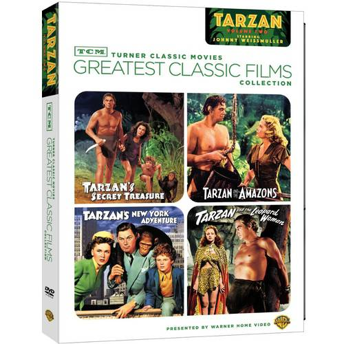 TCM Greatest Classic Films Collection: Johnny Weissmuller As Tarzan, Vol. 2