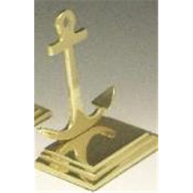 Mayer Mill Brass - ABS-1 - Anchor Book Ends - Small - Pair