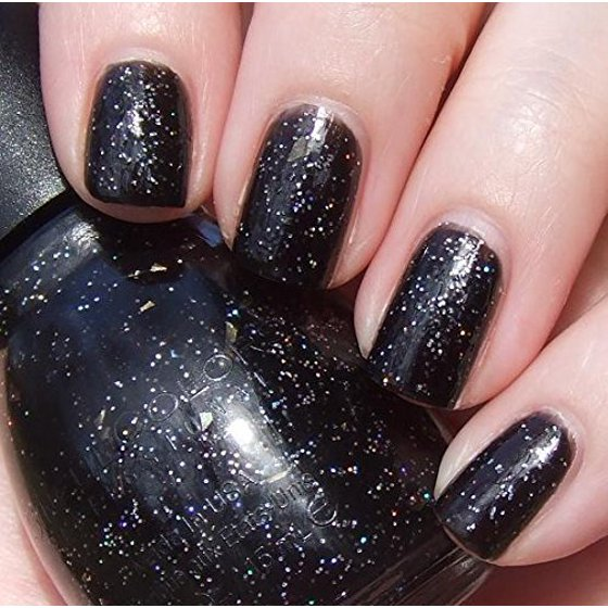 SinfulColors Professional Nail Color 103 Black On Black, 0.5 FL OZ ...