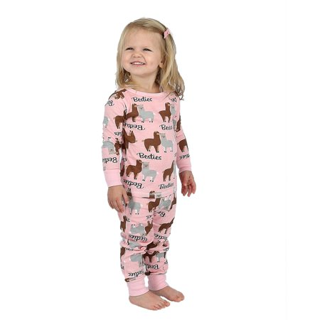 ebed0c6c Cozy Couture Infant and Toddler Long Sleeve Top and Pant Pajama Set - image  1 of ...