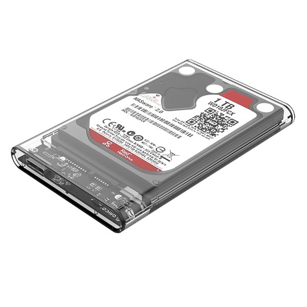 ORICO 2139U3-CR 2.5 inch External Transparent USB3.0 SATA 3 HDD SSD Hard Disk Drive Enclosure Storage Case Box