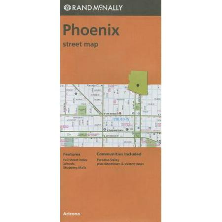 Rand McNally Phoenix, Arizona Street Map (Albuquerque Street Map)