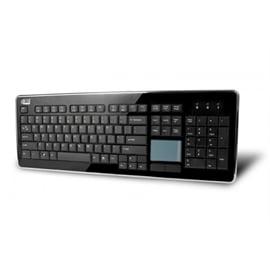 Adesso Black Wireless Touchpad Keyboard  Wkb 4400Ub
