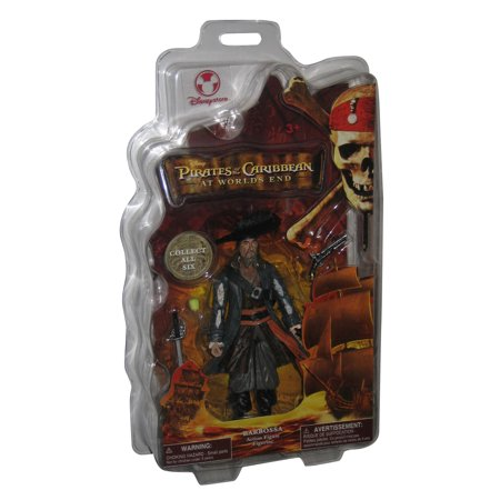 Pirates of The Caribbean At World's End Barbossa Disney Store Figure Disney World Pirate