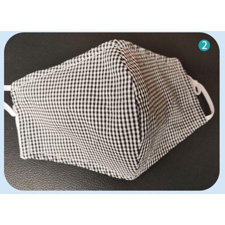 Boyijia Unisex Non-woven Fabric Face Mask Anti-dust Anti-haze Breathable Washable Reusable Windproof Mask - image 4 of 9