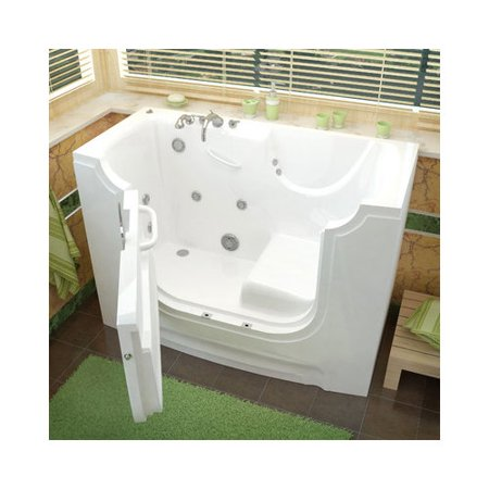 Therapeutic tubs handitub 60 39 39 x 30 39 39 whirlpool jetted for Walk in tub water capacity