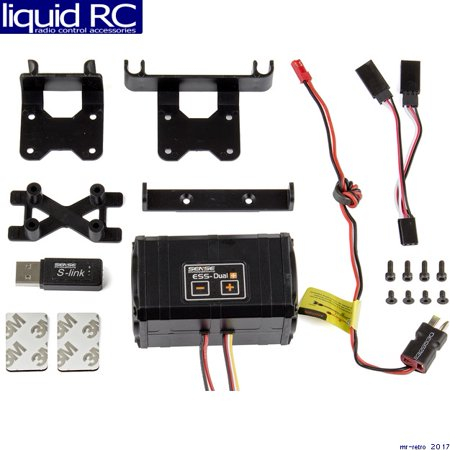 Associated 29263 Ess-Dual+ Engine Sound System (Associated Pull)