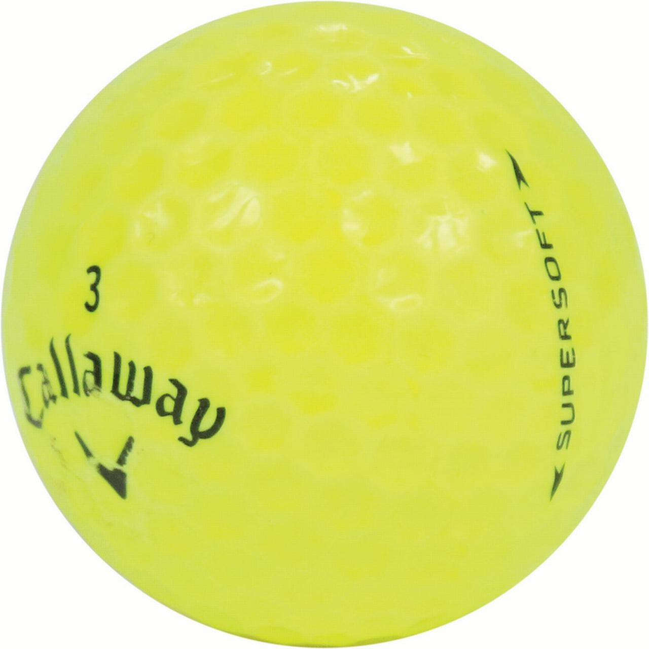 Callaway Supersoft Yellow - Value (AAA) Grade - Recycled ...