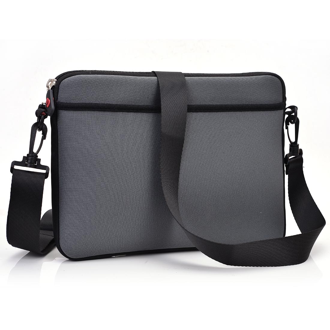 "KroO 11"" Laptops, Netbooks, Chromebooks, Tablets Messenger Style Carrying Bag with Front and Rear Pockets, Includes Removable Shoulder Strap"