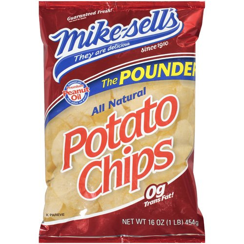Mike-Sell's Original Potato Chips, 16 oz