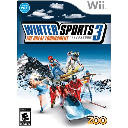 Winter Sports 3: The Great Tournament - Nintendo Wii, Eight unique and distinct sports: boardercross, freeride skiing, Alpine skiing, ski flying, short-track speed.., By by Zoo - Freeride Ski Bindings