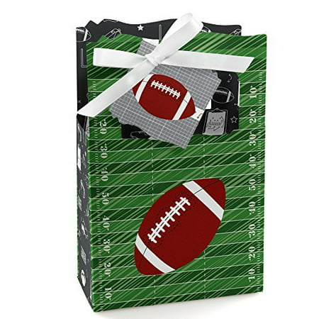 Football Party Favors (End Zone - Football - Baby Shower or Birthday Party Favor Boxes - Set of)