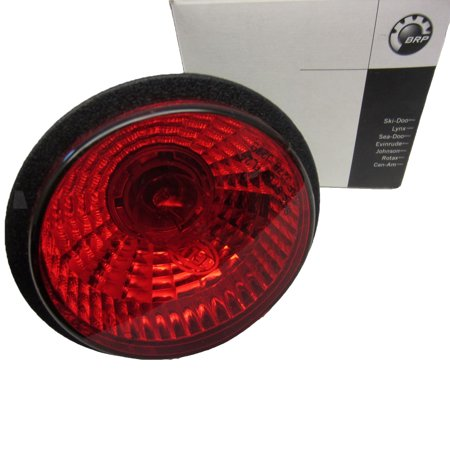 Can-Am ATV New OEM Outlander Renegade Round Rear Taillight Tail Lamp - New Oem Tail Light