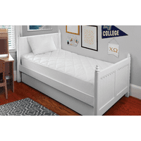 Mainstays Back To College Bundle with Standard Pillow & Twin Mattress Pad