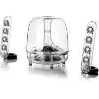 Harman Kardon SOUNDSTICKSBTAM 2.1 Bluetooth Speaker System - 40 W RMS - 44 Hz to 20 kHz