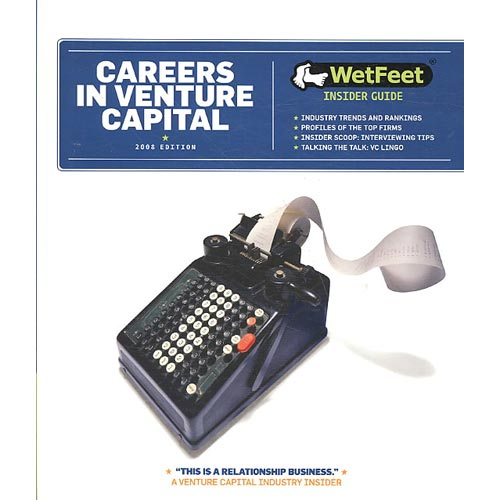 Careers in Venture Capital