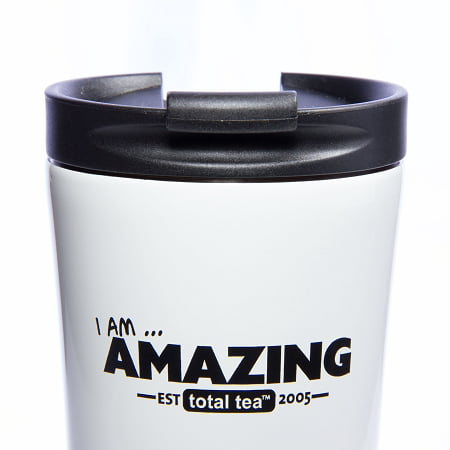 Travel Coffee Mug or Ice Tea Tumbler. 17oz Double Vacuum Insulated. 18/8 Stainless Steel Travel Tumbler and Flip-top Leak Proof Lid. Non-slip Rubber Base. BPA Free. 100% Guarantee