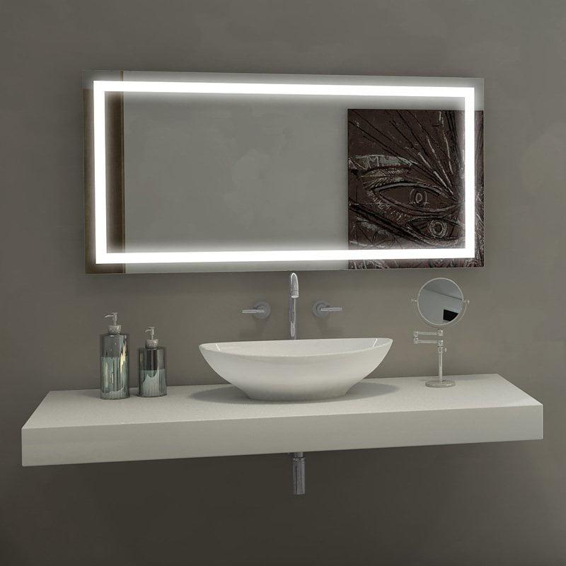 Paris Mirror Harmony Illuminated Bathroom Mirror by