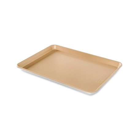 Natural Aluminum NonStick Commercial Baker's Half Sheet, Bakers Half Sheet natural aluminum nonstick commercial bakeware is made of pure aluminum which.., By Nordic Ware