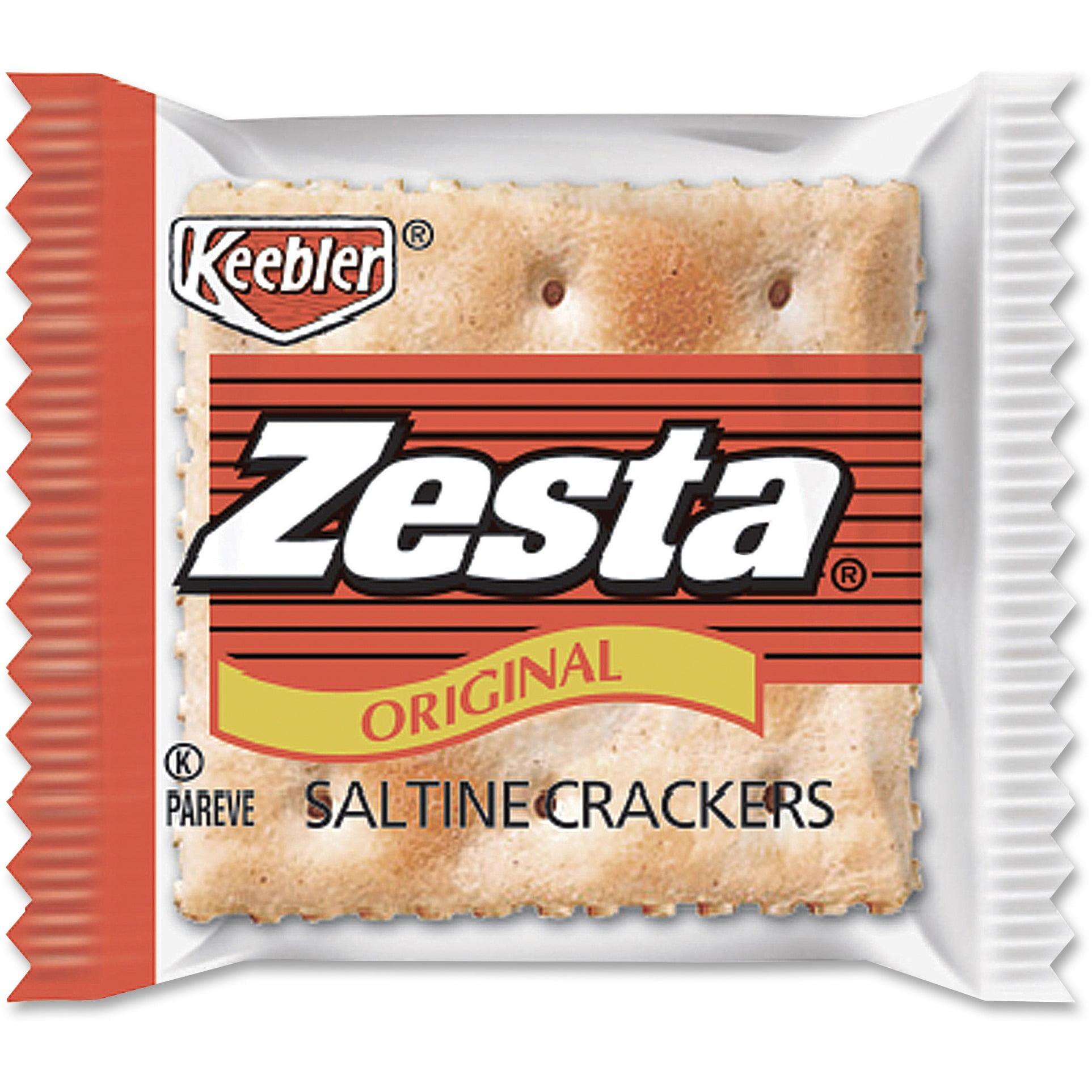 Keebler, KEB00646, Zesta Saltine Crackers Packets, 300 / Carton