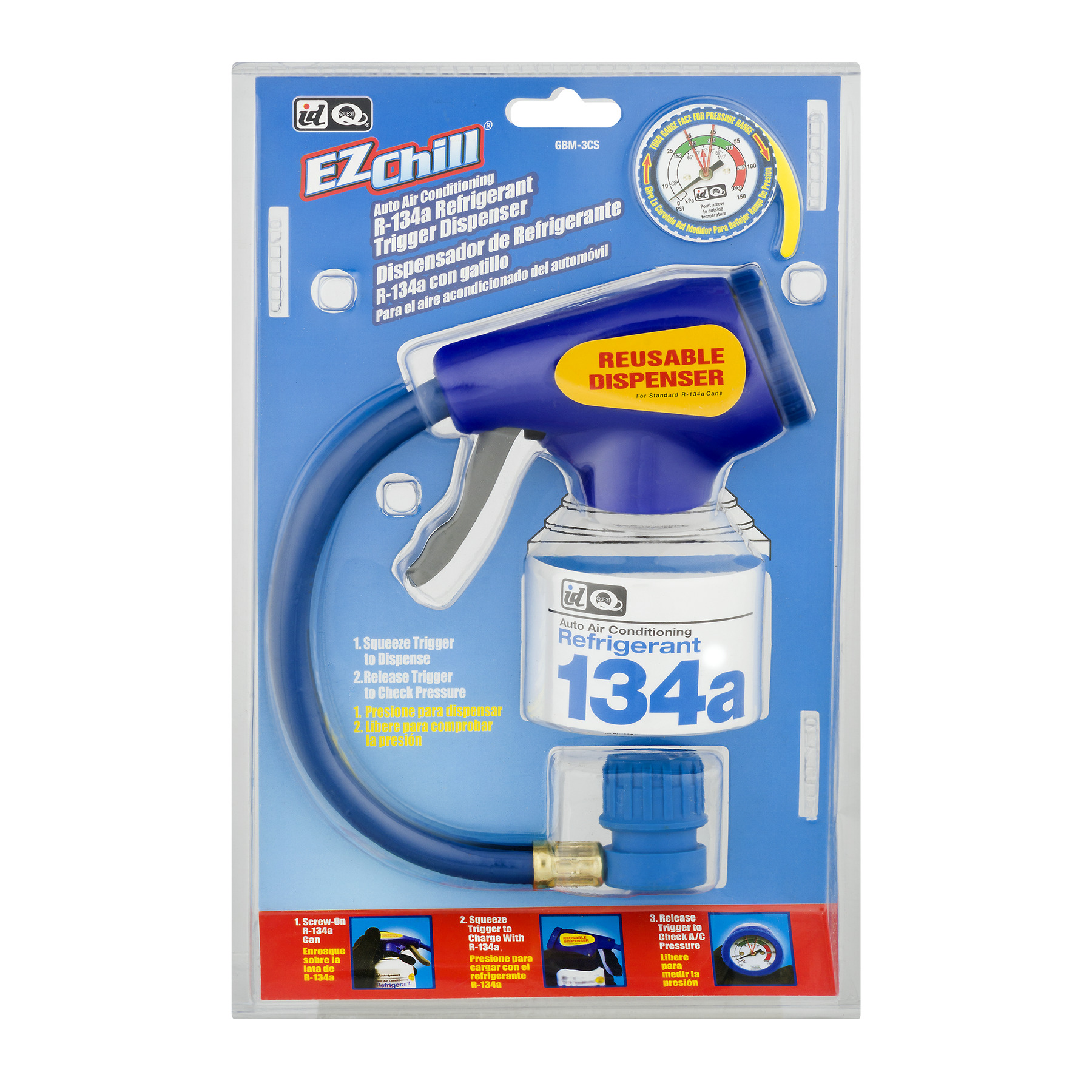 EZ Chill Auto Air Conditioning Refrigerant 134a