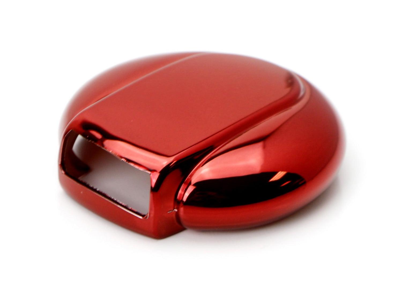 F60 Countryman Chrome Red TPU Key Fob Case For 14//15-up MINI Cooper F55 F56