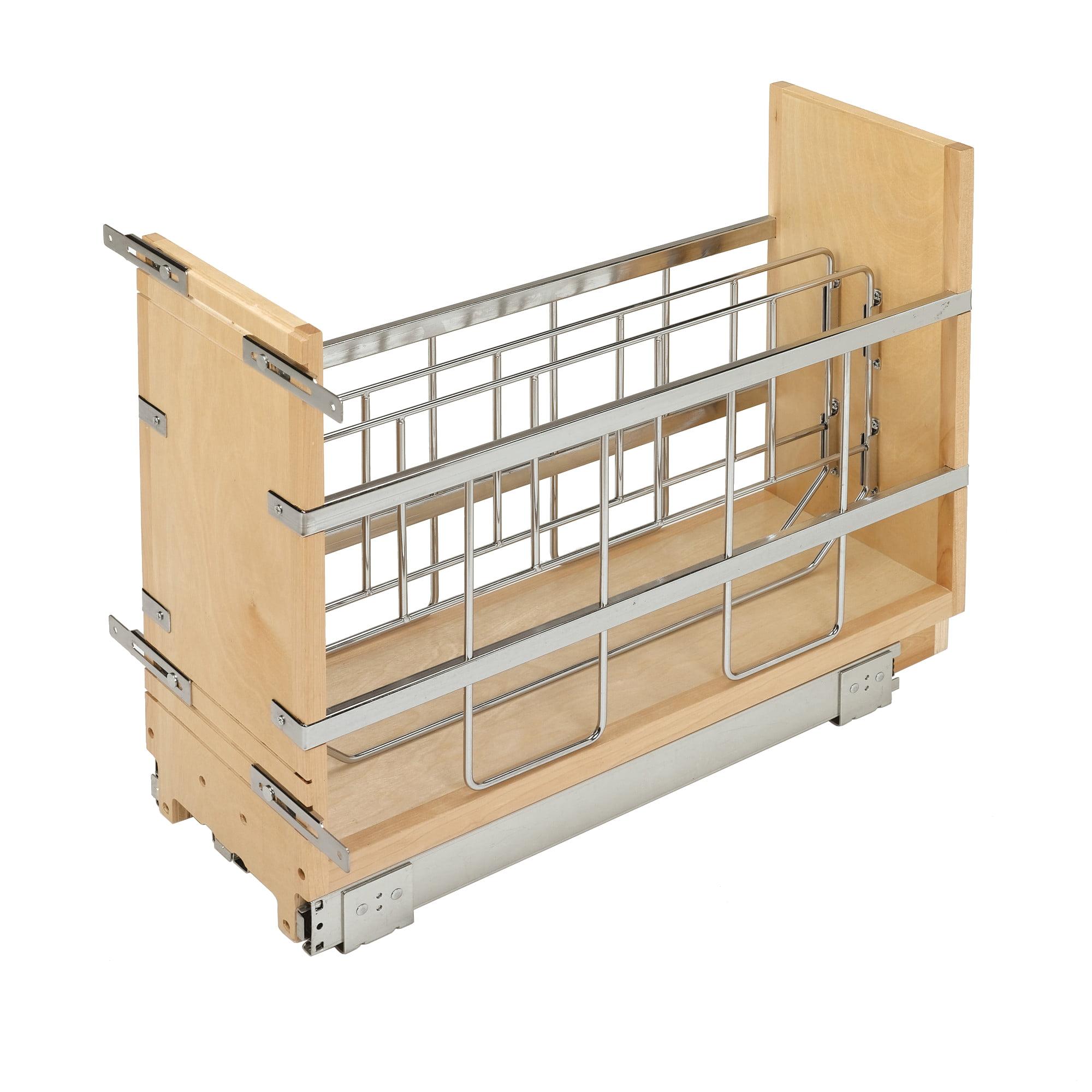 Rev A Shelf 447 Bcbbsc 5c 5 Inch Pull Out Tray Divider Kitchen Cabinet Organizer Walmart Canada