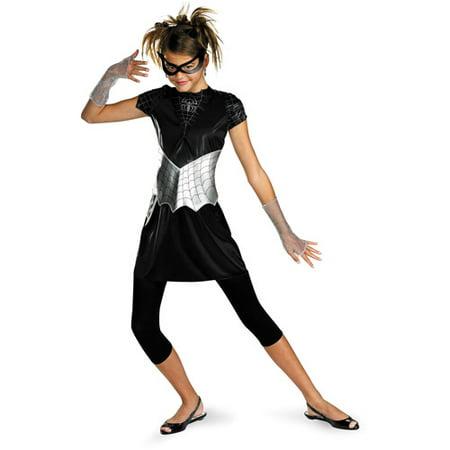 Black Suited Spider-Girl Teen Halloween Costume