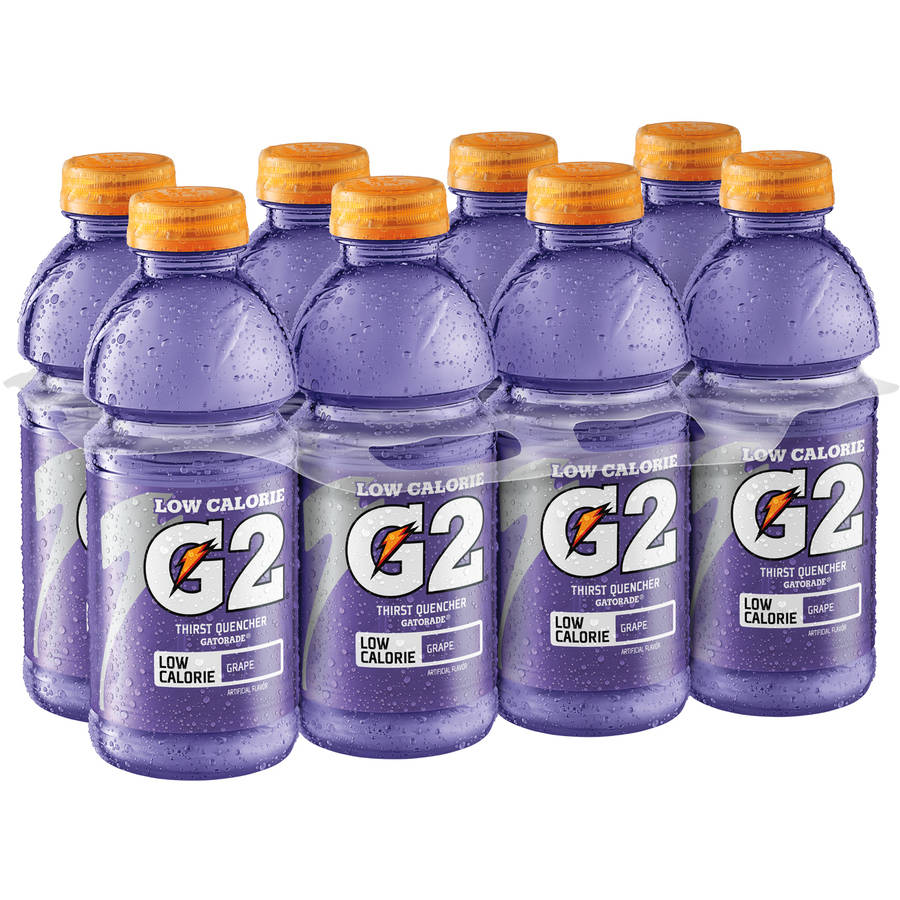 Gatorade G2 Low Calorie Grape Sports Drink, 8 Ct/160 Fl Oz