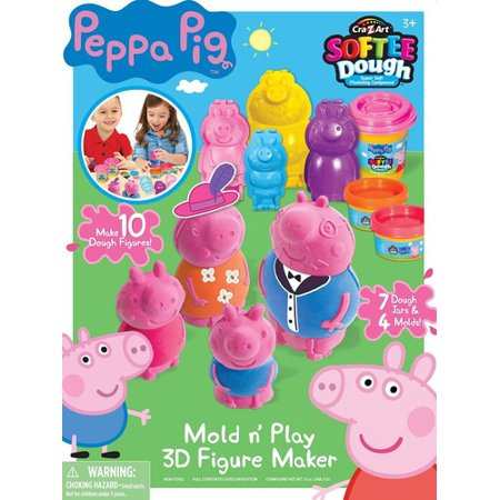 Peppa Pig Softee Dough Figure Maker - Pappe Pig