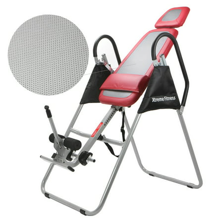 XtremepowerUS Chiropractic Gravity Inversion Therapy Table Fitness Back Reflexology ()