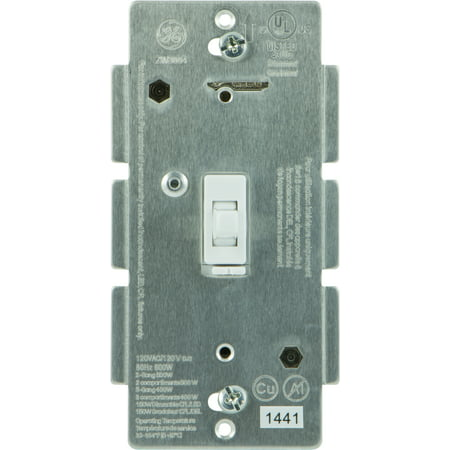 Ge Z Wave In Wall Smart Lighting Control Dimmer Hub