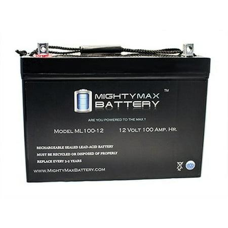 Walk Behind Scrubber (12V 100Ah SLA Battery for Tennant T2 Walk Behind Compact)